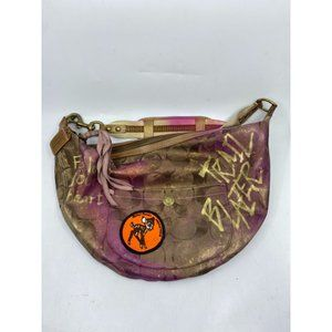 COACH Fabric Hobo Bag Customized with cosmic Ombré